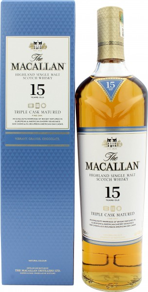 Macallan Triple Cask 15 Jahre