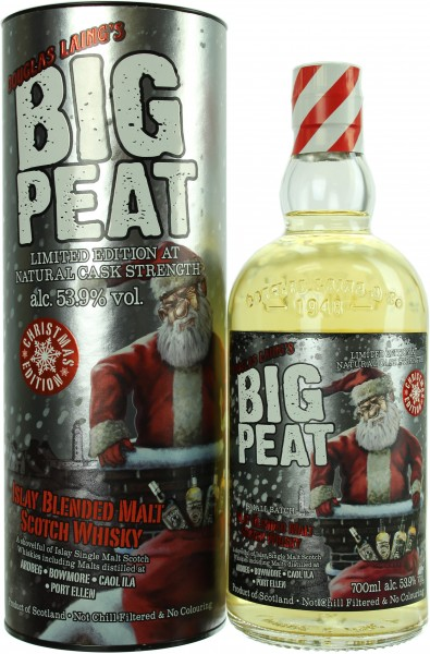 Big Peat Christmas Edition 2018 53.9% 0,7l
