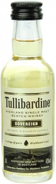 Miniatur Tullibardine Sovereign 43.0% 0,05l