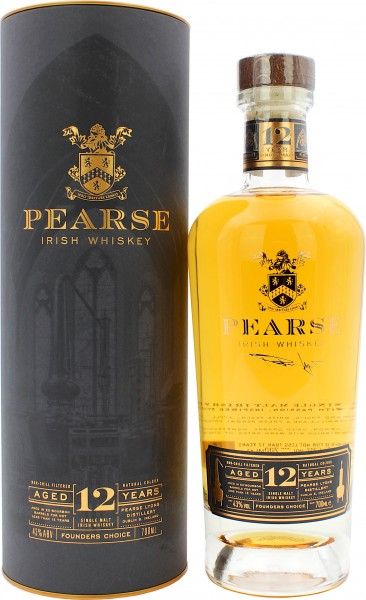 Pearse Lyons 12 Jahre Founders Choice Irish Whiskey