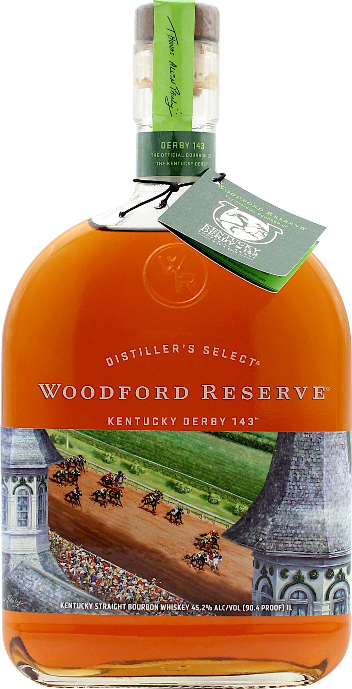 Woodford Reserve Distiller's Select Limited Derby Edition 255 255.25 25 Liter