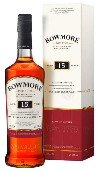 Bowmore 15 Jahre 43.0% 0,7l
