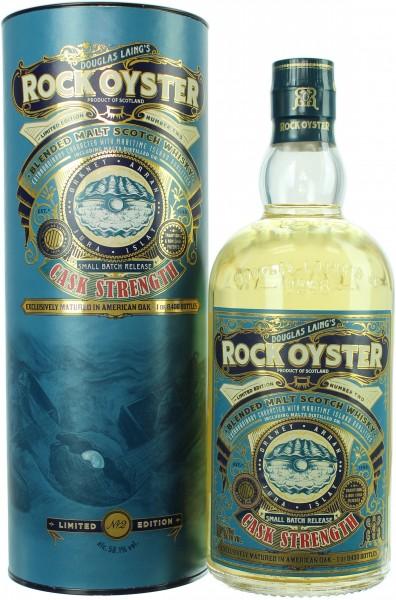 Rock Oyster Cask Strength Batch 2 56.1% 0,7l