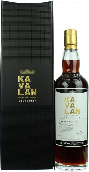 Kavalan Selection Sherry Single Cask 58.6%