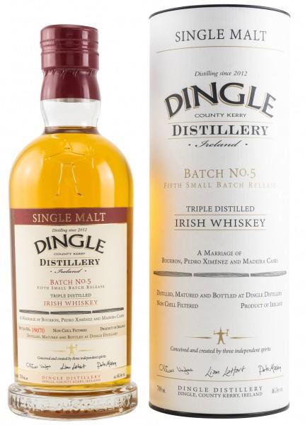 Dingle Single Malt Irish Whiskey Batch 5
