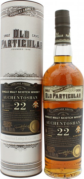 Auchentoshan 22 Jahre 1997/2019 Old Particular Single Cask Germany