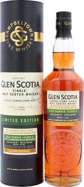 Glen Scotia 2012/2020 Tawny Port Single Cask #19/660-5