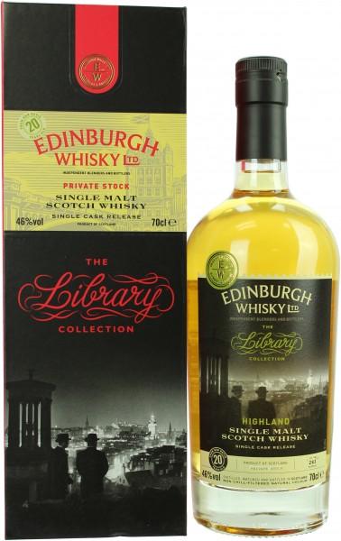 Ben Nevis 20 Jahre 1996/2017 Edinburgh Whisky Ltd. 46.0% 0,7l