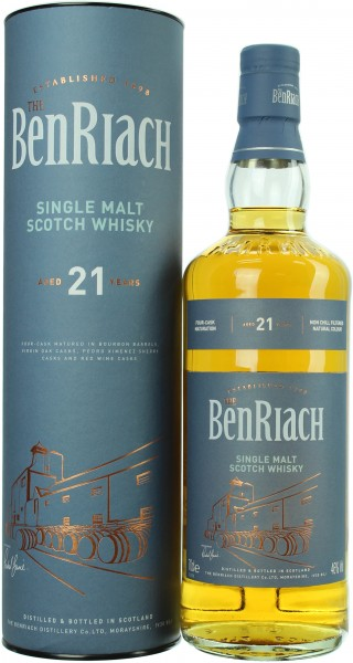 Benriach Four Casks 21 Jahre 46.0% 0,7l