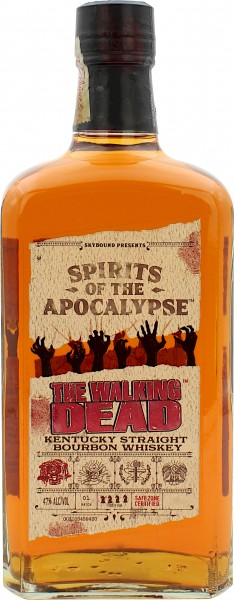 The Walking Dead - Spirits of the Apocalypse Straight Bourbon Batch #1