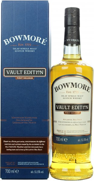 Bowmore Vault Edit1°n First Release