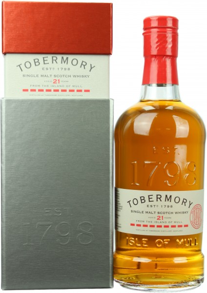 Tobermory 21 Jahre Oloroso Sherry Finish