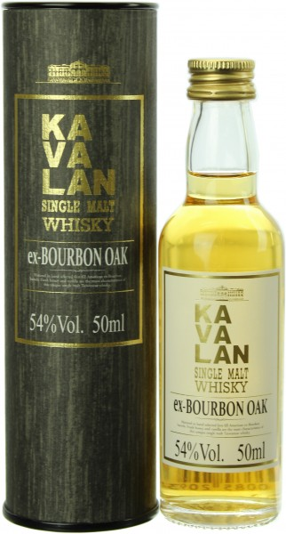 Miniatur Kavalan Ex-Bourbon Oak (Taiwan) 46.0% 0,05l