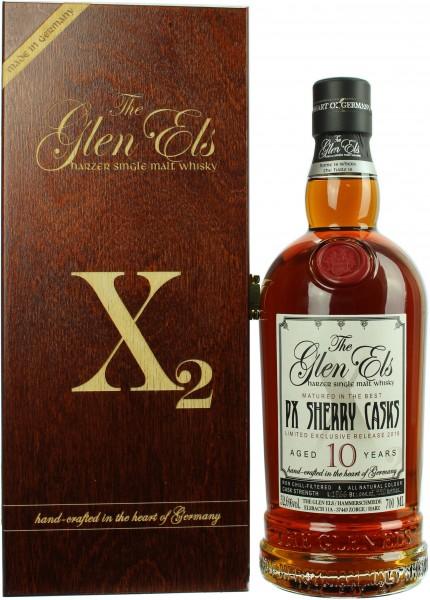 The Glen Els X2 10 Jahre PX Sherryfass 52.6% 0,7l