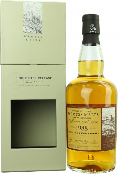 Invergordon 30 Jahre 1988/2018 Waffels and Maple Syrup 59.9% 0,7l
