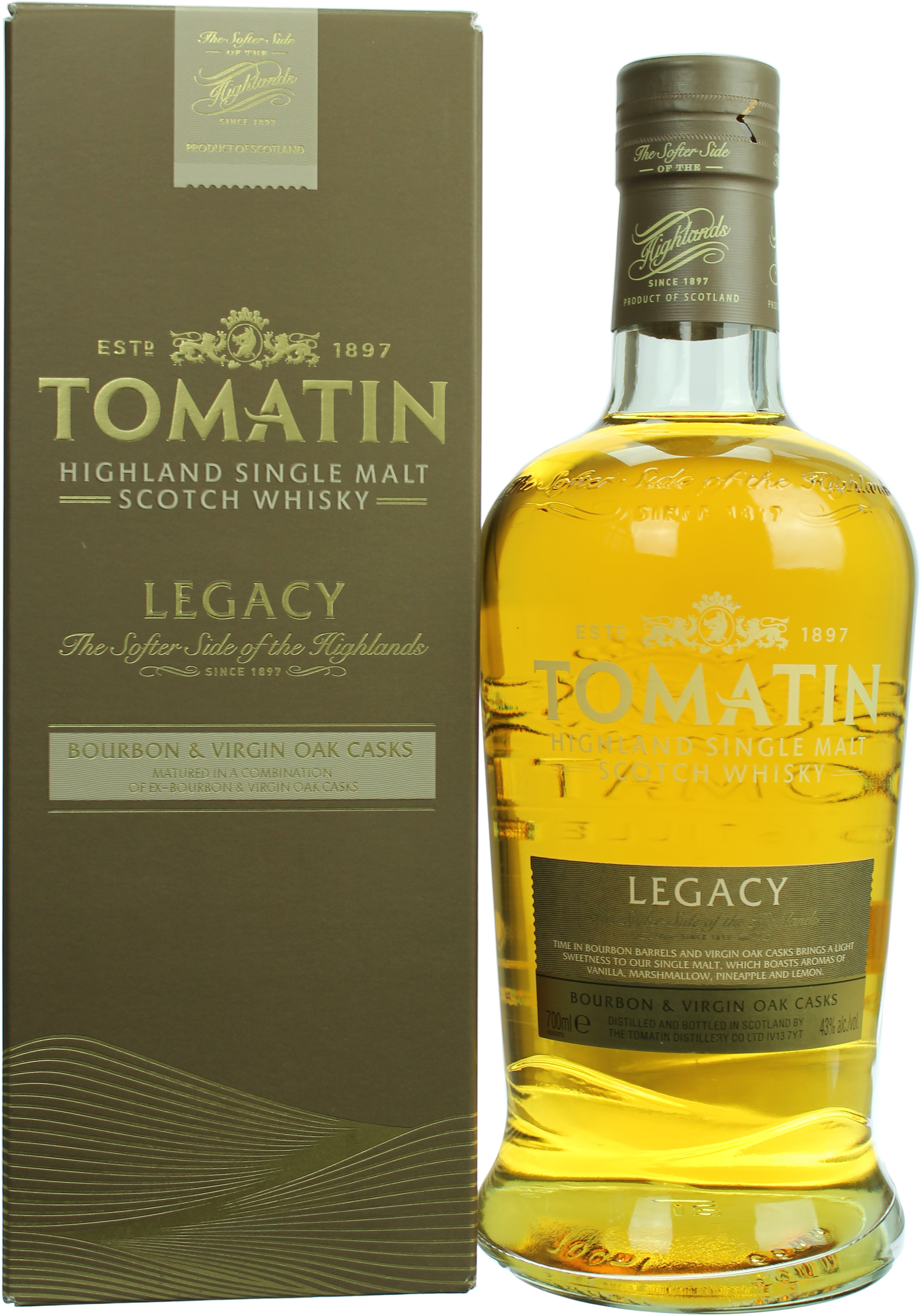 Tomatin Legacy   Whiskyzone.de