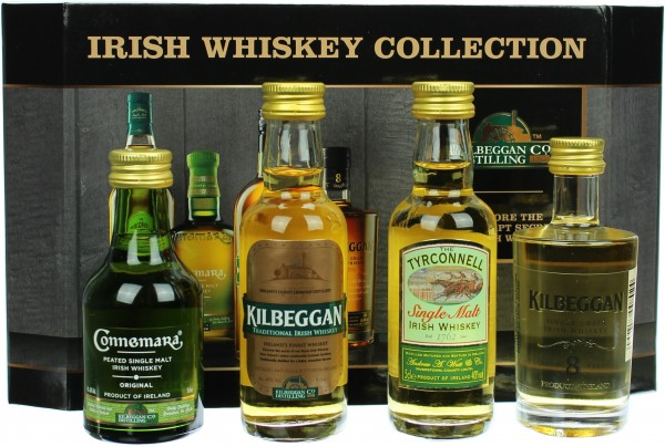 Irish Whiskey Collection von Cooley 4x0,05l