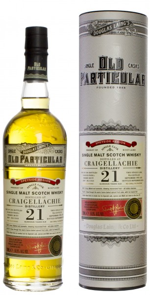 Craigellachie Old Particular 21J-1995/2016 51.5% 0,7l