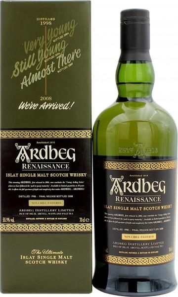Ardbeg Renaissance 1998/2008 55.9% 0,7l