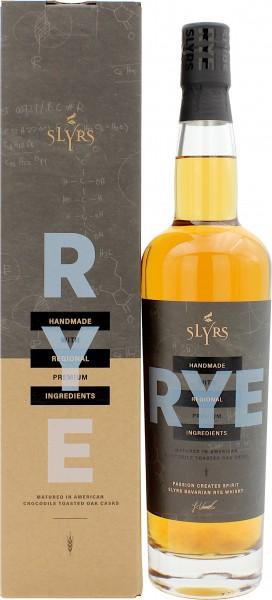 Slyrs Bavarian Rye Whisky (Deutschland)