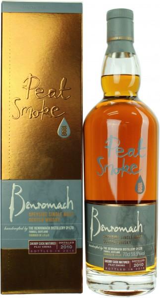 Benromach 2010/2018 Peat Smoke Sherry Cask 59.9% 0,7l