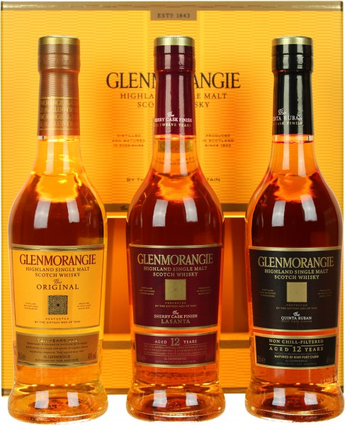 Glenmorangie Pioneering Set 3x0,35l