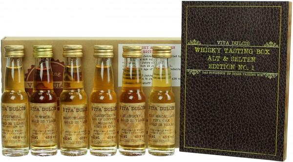 """Whisky Tasting-Box """"Alt & selten"""""""