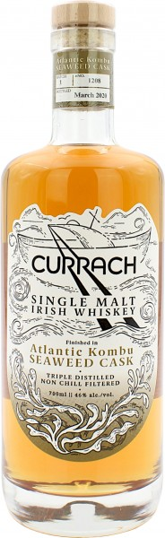 Currach Irish Single Malt Kombu Seaweed Cask Finish