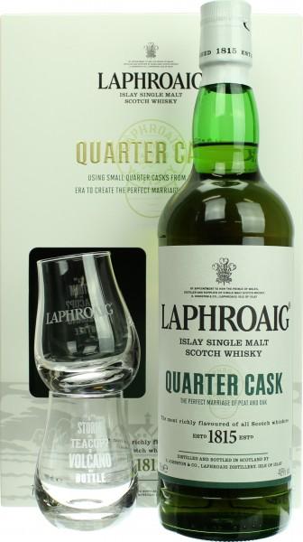 Laphroaig Quarter Cask Geschenkset mit zwei Tumblern