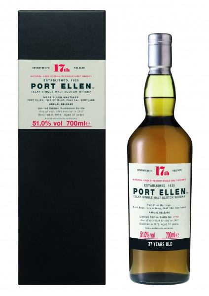 Port Ellen 17th Release 37J-1979/2017 51.0% 0,7l