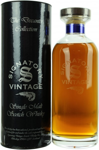 Glenrothes 21 Jahre 1997/2018 Signatory Decanter Collection 43.0% 0,7l