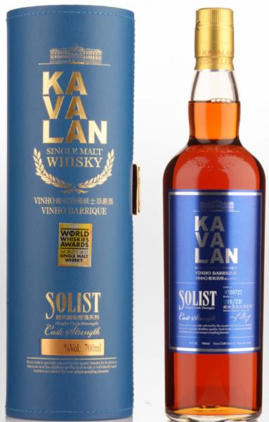 Kavalan Solist Vinho 2016 (Taiwan) 57.1% 0,7l