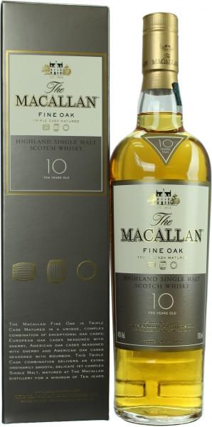 Macallan Fine Oak 10 Jahre 40.0% 0,7l