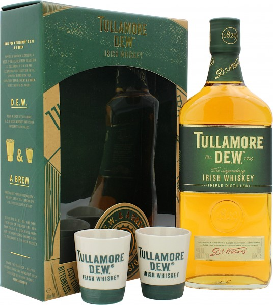 Tullamore Dew Geschenkset mit 2 Becher
