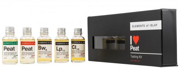Elements of Islay Tasting Kit 52.4% 5x30ml