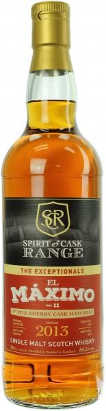 Spirit & Cask Range El Máximo Sherry No. 11 2013/2018 66.2% 0,7l