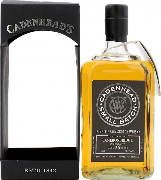 Cameronbridge 26 Jahre 1989/2015 Small Batch Cadenhead's