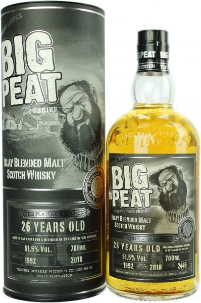 Big Peat 26 Jahre The Platinum Edition 51.5% 0,7l