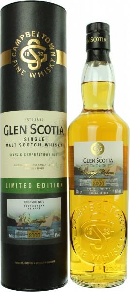 Glen Scotia 18 Jahre 2000/2018 Limited Edition 46.0% 0,7l