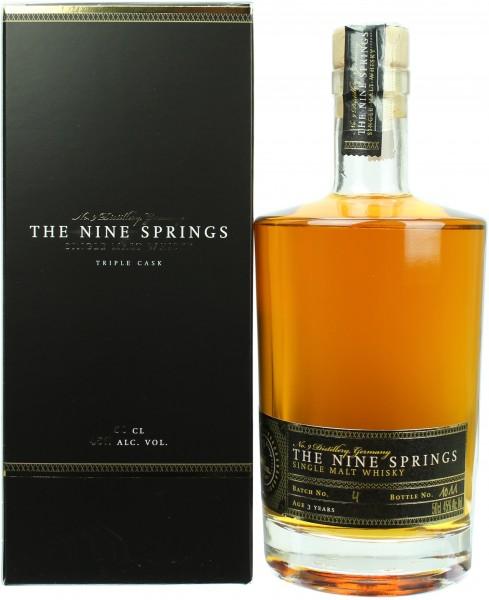 The Nine Springs Single Malt Batch #4 45.0% 0,5l