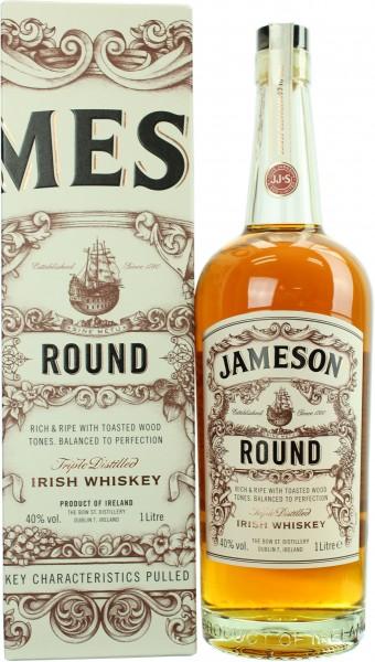 Jameson Round 40.0% 1 Liter