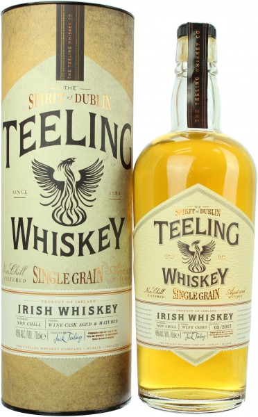 Teeling Single Grain Wine Cask Finish 46.0% 0,7l