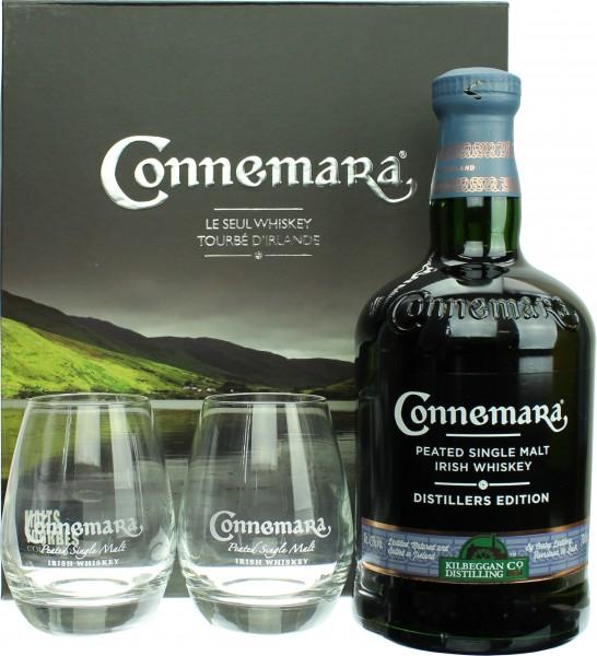 Connemara Distillers Edition Geschenkset mit 2 Tumblern
