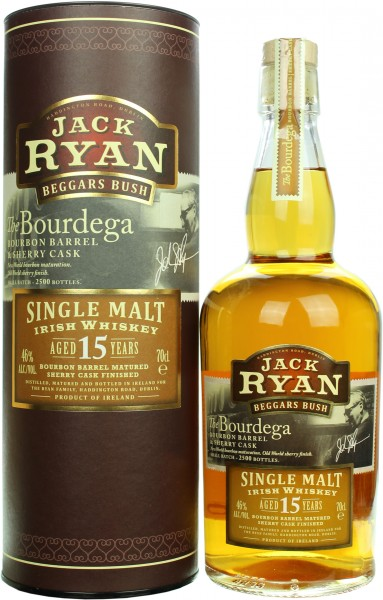 Jack Ryan Beggars Bush 15 Jahre Sherry Cask Finish