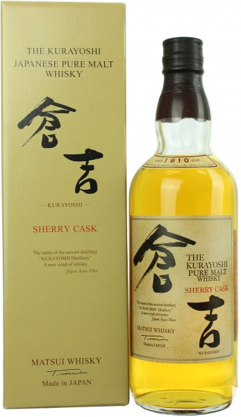 Kurayoshi Pure Malt Sherry Cask 43.0% 0,7l