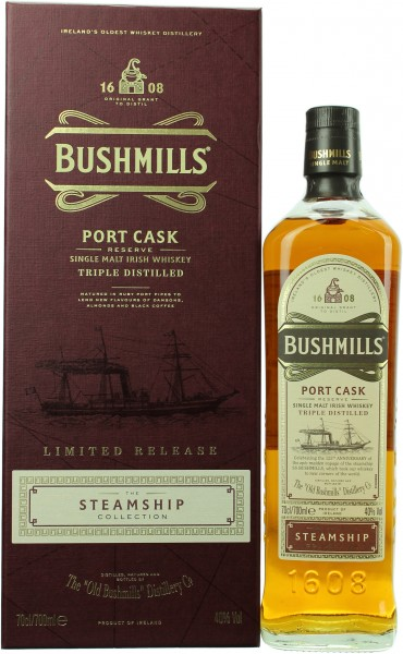 Bushmills Port Cask Reserve The Steamship Collection