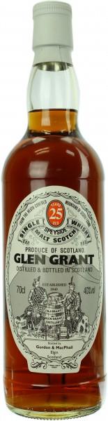 Glen Grant 25 Jahre G&M 40.0% 0,7l