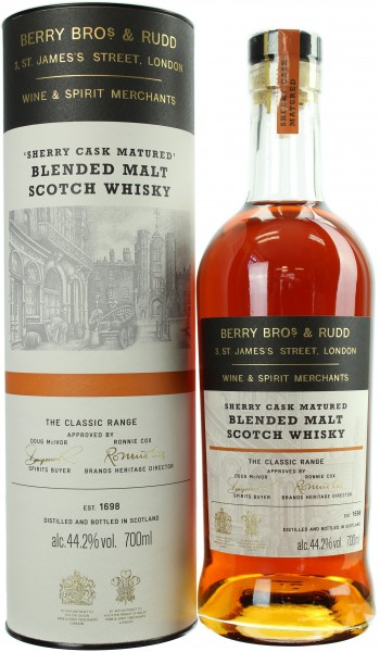 Blended Malt Sherry Cask Berry Bros. & Rudd 44.2% 0,7l