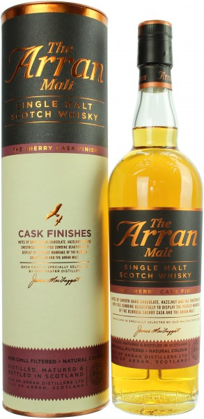 Arran Sherry Cask Finish 46.0% 0,7l
