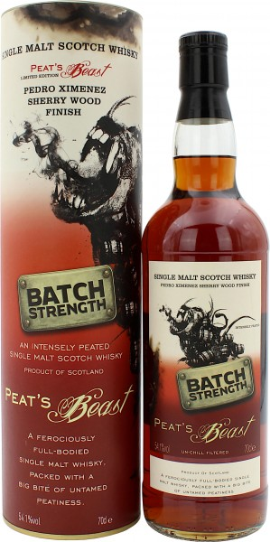 Peat's Beast Sherry Wood Finish